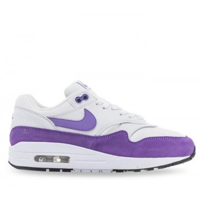 Womens Air Max 1 Summit White/Atomic Violet-Black