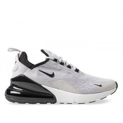 Womens Air Max 270 Vast Grey/Black-Black