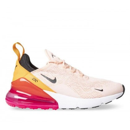 Womens Air Max 270 Washed Coral/Blk-Laser Fuchsia