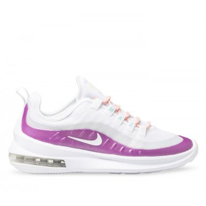 Womens Air Max Axis White/White-Hyper Violet-Bleac