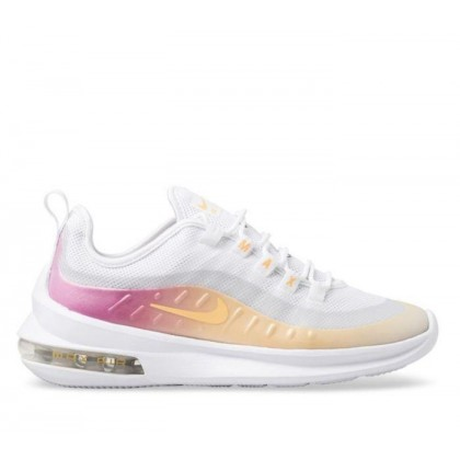 Womens Air Max Axis Premium White/Melon Tint-Laser Fuchsia