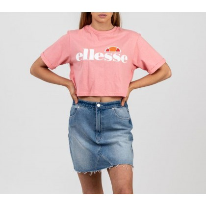 Womens Alberta Crop T-Shirt Pink