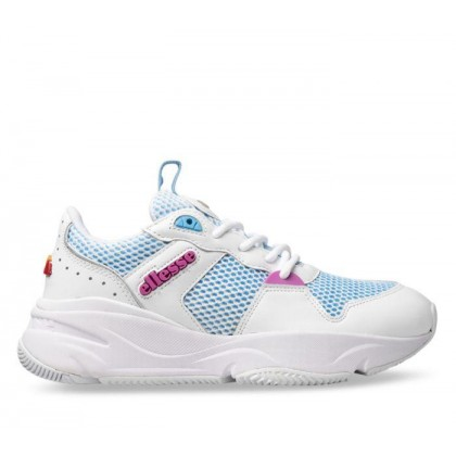 Womens Aspio White/Alaskan Blue