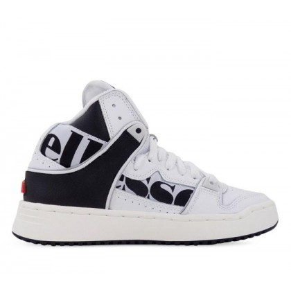 Womens Assist Hi Wht/Blk/Lt Gry