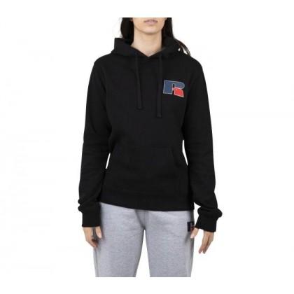 Womens Athletic Logo Hoodie Black