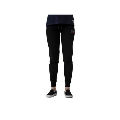 Womens Athletic Logo Trackpant Black