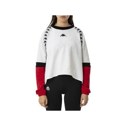 Womens Authentic Bafal Fleece 906 White - Red - Black