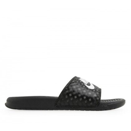 Womens Benassi JDI Black White