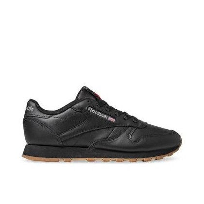 Womens Classic Leather Int-Black/Gum