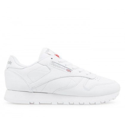 Womens Classic Leather INT-White