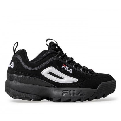 Womens Disruptor II Blk/White/VRed