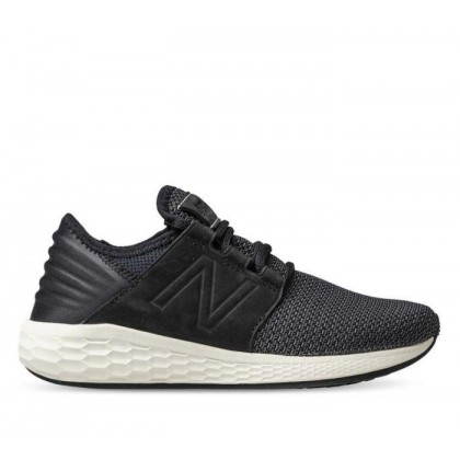 Womens Fresh Foam Cruz Black White