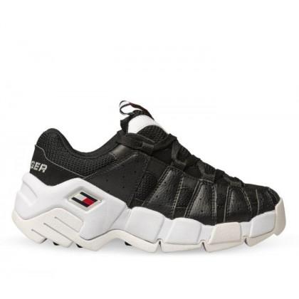 Womens Heritage Chunky Sneaker Black