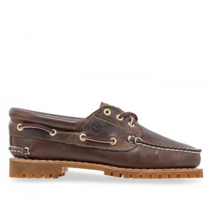 Womens Heritage Noreen 3-Eye Shoes Medium Brown Full-Grain