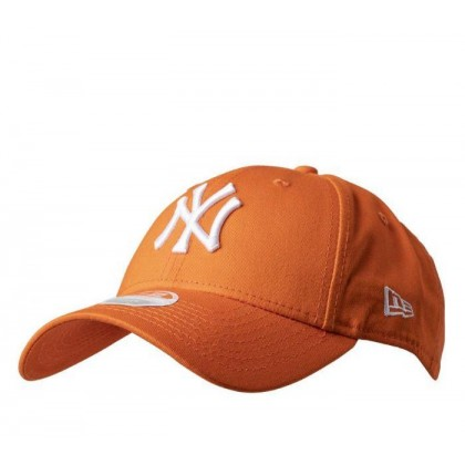 Womens NY Yankees 9Forty Baseball Cap Tangerine