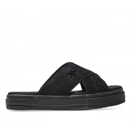 Womens One Star Sandal Black/Black/Black