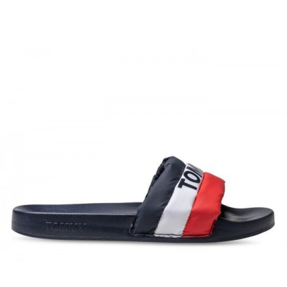 Womens Padded Pool Slide Rwb