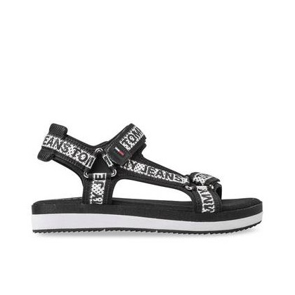 Womens Repeat Logo Sandal