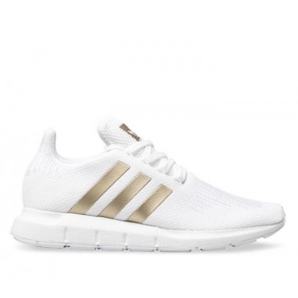 Womens Swift Run White/Gold