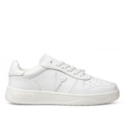 Womens Universe White Leather