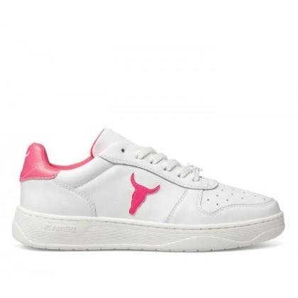 Womens Universe White Neon Pink