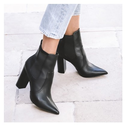 Porter - Black Calf by Siren Shoes