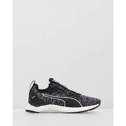 Hybrid Runner - Women's Puma Black & Fair Aqua by Puma