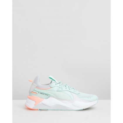 RS-X Tracks - Women's Fair Aqua & Glacier Grey by Puma