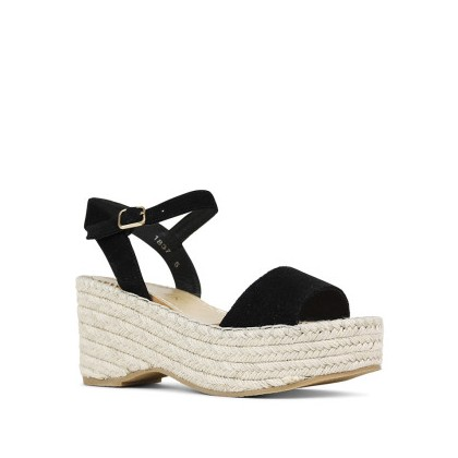 Randy - Black Suede by Siren Shoes