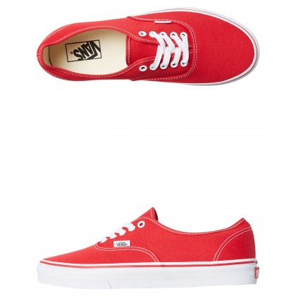 Mens Authentic Shoe Red