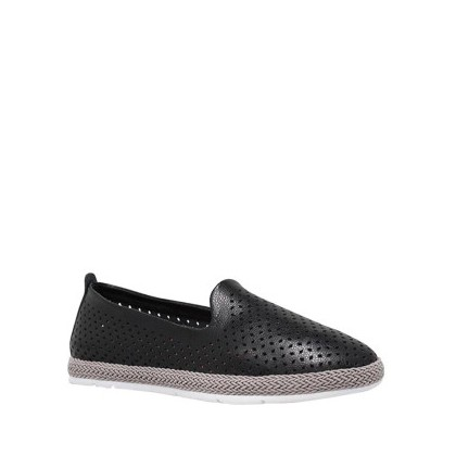 Remi - Black Leather by Siren Shoes