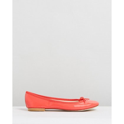 Cendrillon Campari Pink Patent Leather by Repetto