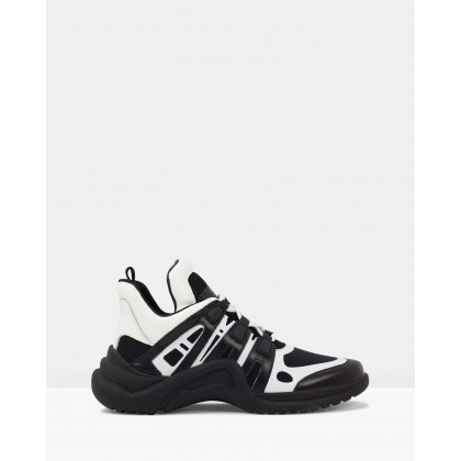 Jazz Black/Black/White by Roc Boots Australia