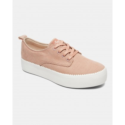 Womens Shaka Platform Sneakers Blush by Roxy