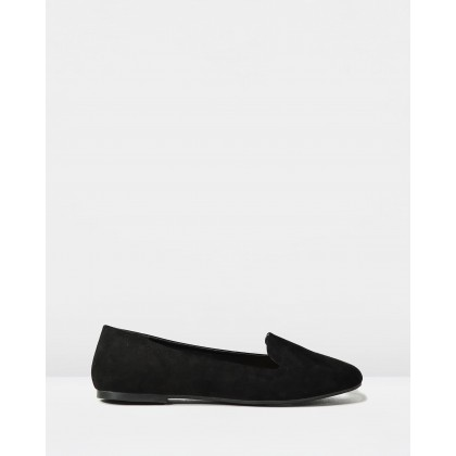 Sophia Slippers Black Micro by Rubi