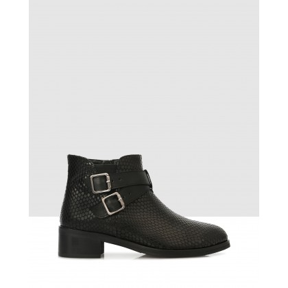 Kamila Ankle Boots 7907 Black by S By Sempre Di