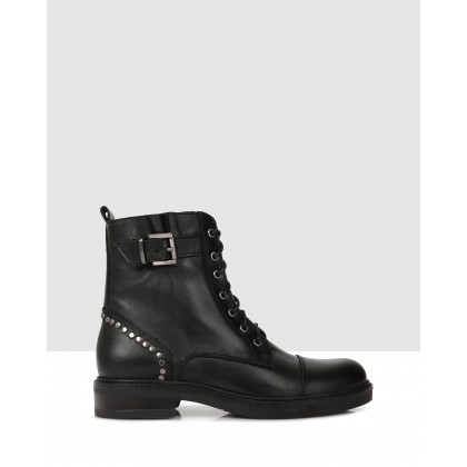 Olga Ankle Boots Black by S By Sempre Di