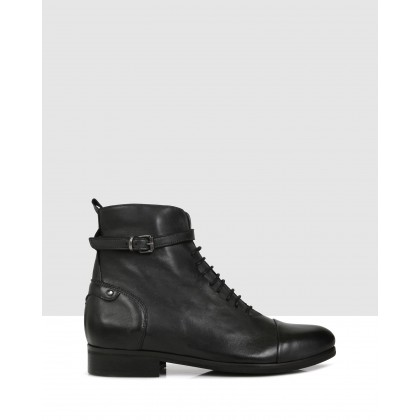 Sofia Ankle Boots Antracite by S By Sempre Di