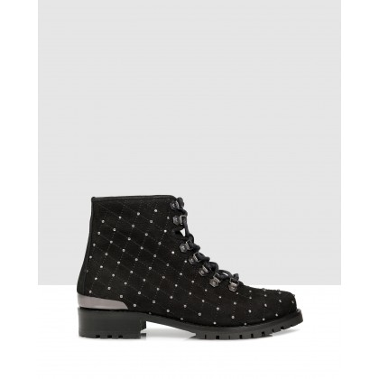 Mollie Ankle Boots Black by S By Sempre Di