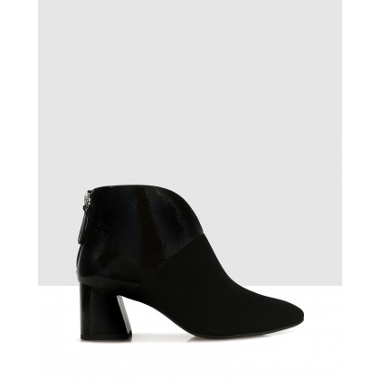 Fulvia Ankle Boots Black by S By Sempre Di