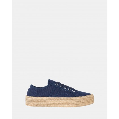 Static NAVY CANVAS by Sandler