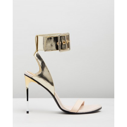 The Countess Heels Gold by Sass & Bide