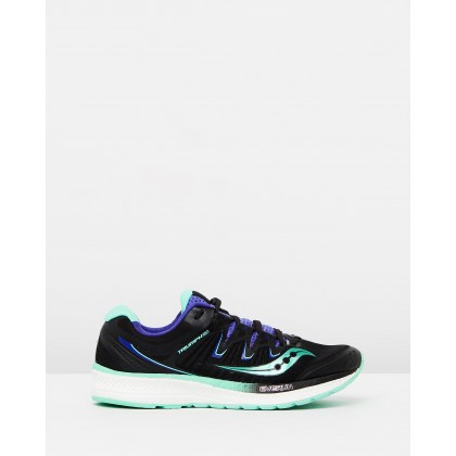 Triumph ISO 4 - Women's Black, Aqua & Violet by Spurr