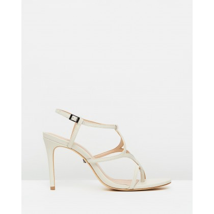 Summer Mestico Strappy Heels Pearl by Schutz