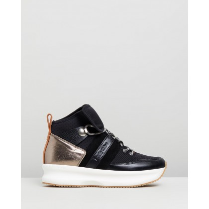High Profile Sneakers Black by See By Chlo??