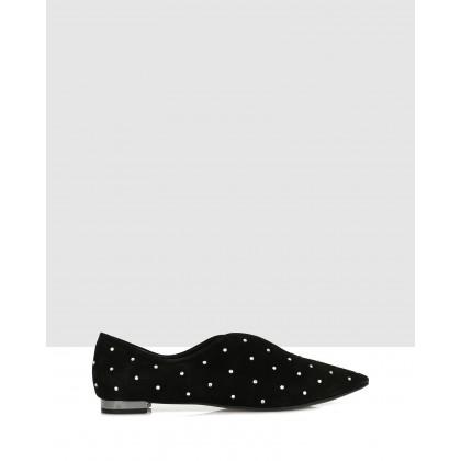 Malu Flats Black by Sempre Di