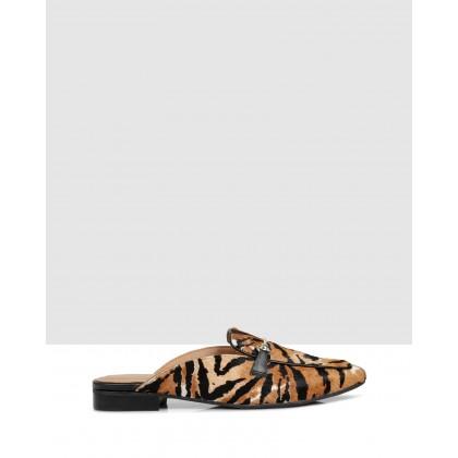 Fiastra Slides Tigre Cuoio by Sempre Di