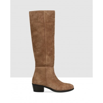 Melody High Boots Brown by Sempre Di