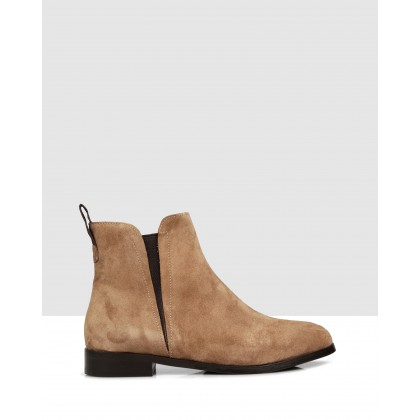 Maple Ankle Boots Brown by Sempre Di