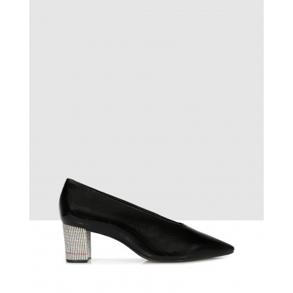 Filippa Courtshoes Black by Sempre Di